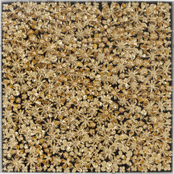 Cornice decorativa Gold Flower 120x120cm