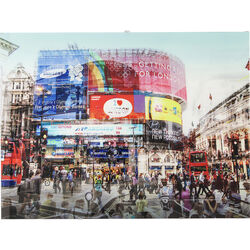 Picture Glass Piccadilly Circus 120x90cm