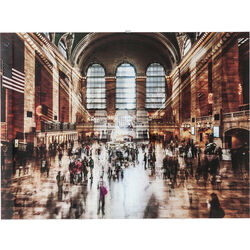Picture Glass Grand Central Station 90x120cm
