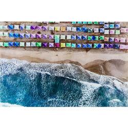 Picture Glass The Beach 100x150cm