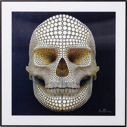 Picture 3D Skull 60x60cm