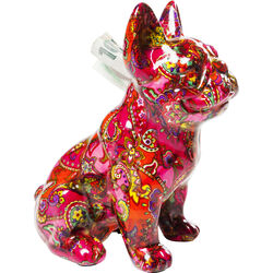 Money Box Bulldog Paisley