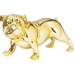 Figura decorativa Bulldogge dorado 22cm