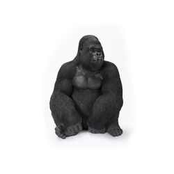 Oggetto decorativo Monkey Gorilla Side XL nero