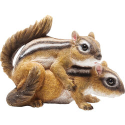 Deco Figurine Chipmunk Mating (2/Set)