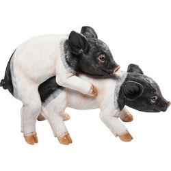 Deco Figurine Pig Mating (2/Set)