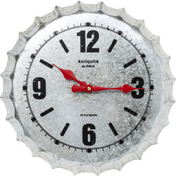 Wall Clock Antiquite De Paris Silver Ø36cm
