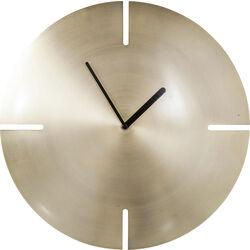 Nástìnné hodiny Cut Brass