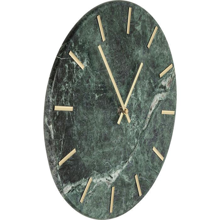 wanduhr desire marble gr n kare design. Black Bedroom Furniture Sets. Home Design Ideas