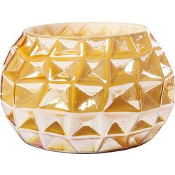 Vase Cascade Amber 19cm