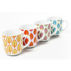 Mug Leaf Assorted