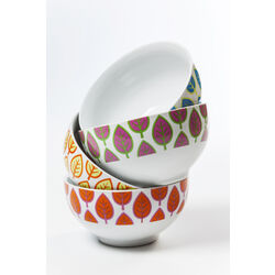 Cereal Bowl Leaf Assorted