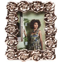 Frame Rosenblüten Rose Gold 13x18cm