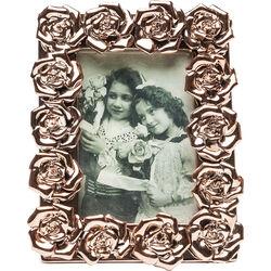 Frame Rosenblüten Rose Gold 10x15cm