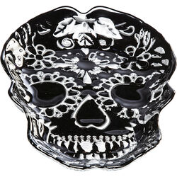 Deco Bowl Skull Black 30cm