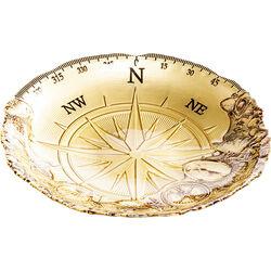 Deco Bowl Compass Gold Ø40cm