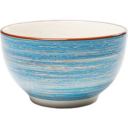 Cereal Bowl Swirl Blue Ø14cm