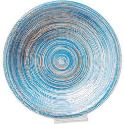 Plato Tief Swirl azul Ø21cm