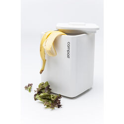 Jar Pure Compost White