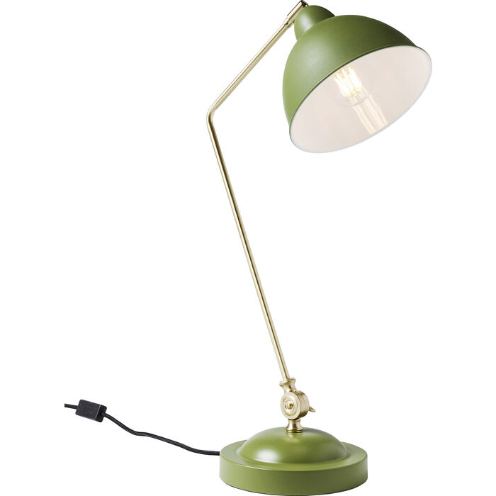 Study Table Lamp : Table Lamp Study Green - KARE Design