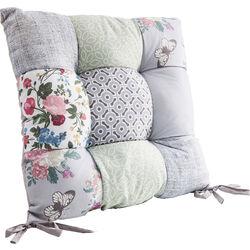 Seat Cushion Patchwork Powder 40x40cm