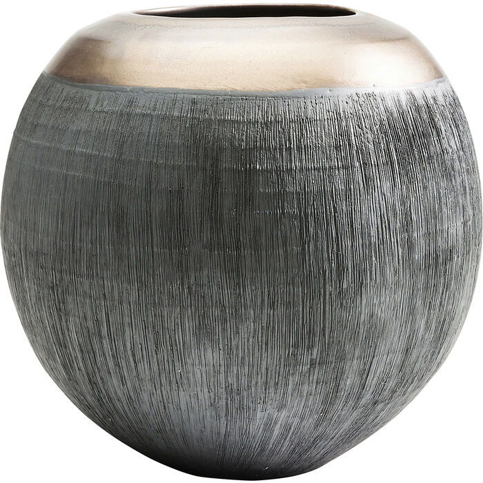 Deco Vase Jungle Round 20 Kare Design