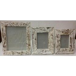 Frame Bark White 20x25cm