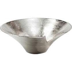 Deco Bowl Zipper Silver