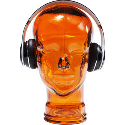 Headphone Mount Transparent Orange