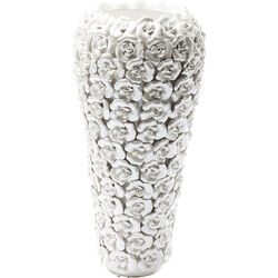 Vase Rose Multi Pearl White Big