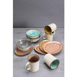 Breakfast Set Crackle Vivido (12-part)