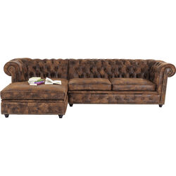 Corner Sofa Cambridge Vintage Eco L