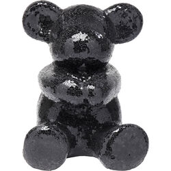 Deco Object Teddy Bear Hug Black