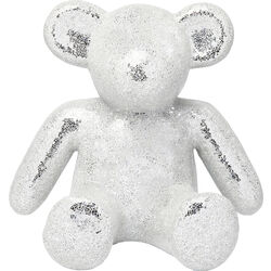 Deco Object Teddy Bear Silver