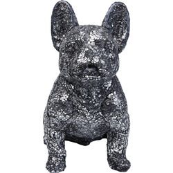 Deco Object Crystal Sitting Dog Small