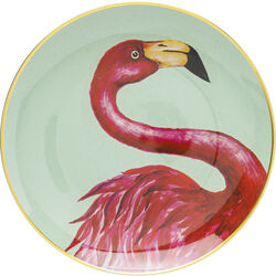 Piatto decorativo Flamingo Ø27cm