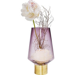 Vase Noble Ring Purple 26cm