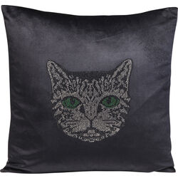 Cushion Cat Face 45x45cm