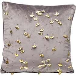 Cushion Ginkgo Grey 45x45cm