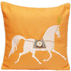 Cushion Classy Horse Orange 45x45cm