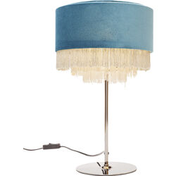 Table Lamp Tassel Bluegreen
