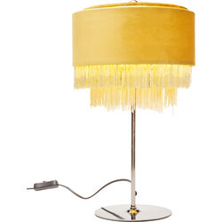Table Lamp Tassel Yellow