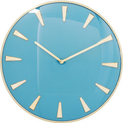 Wall Clock Malibu Light Blue Ø40cm