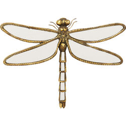 Wall Decoration Dragonfly Mirror 35cm