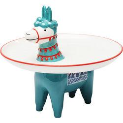 Deco Plate Alpaca Ø23cm