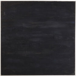 Acrylic Painting Abstract Deep Black 155x155cm