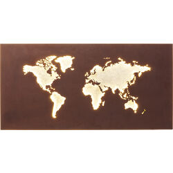 Applique Map LED
