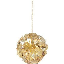 Pendant Lamp Leaf Gold Ball