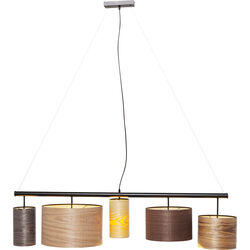 Pendant Lamp Parecchi Wood Colore 140cm