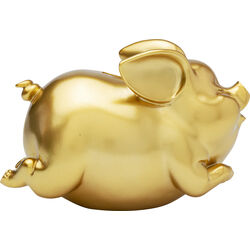 Money Box Pig Gold
